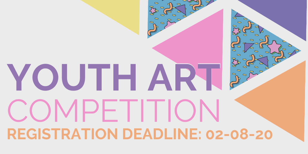 banner, &#34youth art competition&#34