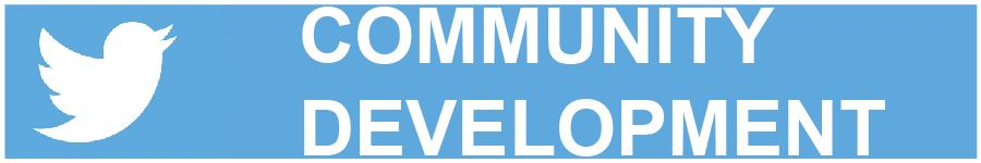 Community Development Twitter banner