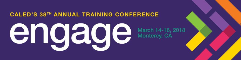 Purple Engage Conference banner