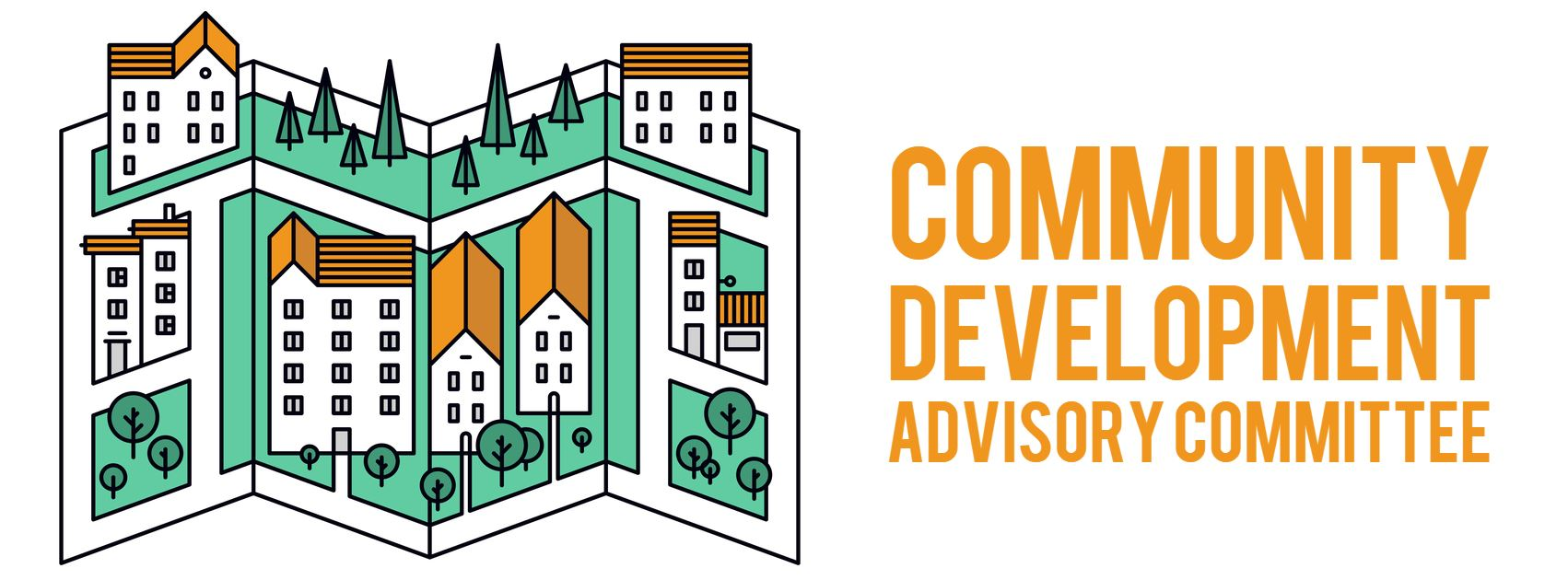 Community Development Advisory Committee graphic of map