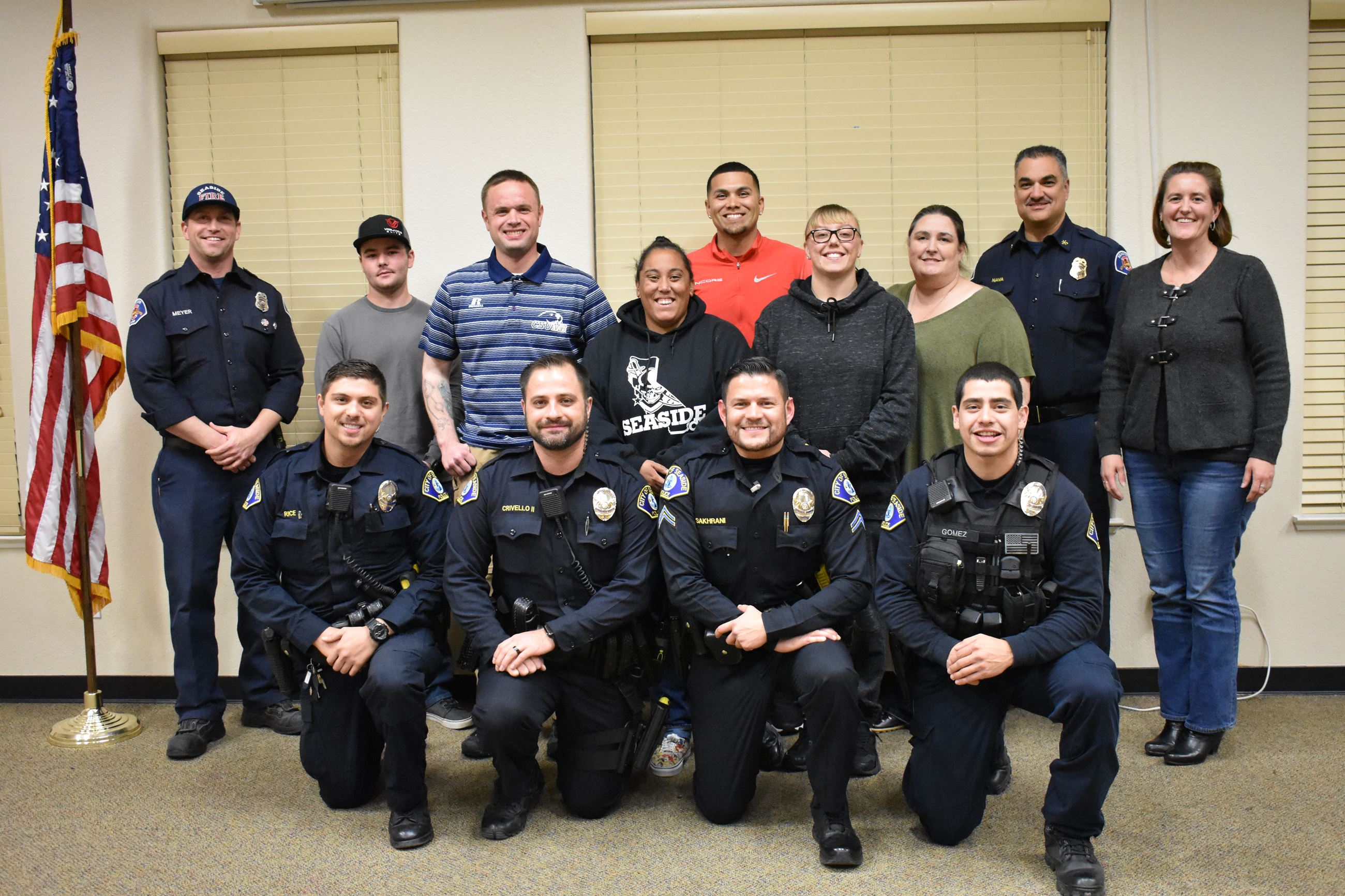 Class Photo of the Public Safety Citizens Academy