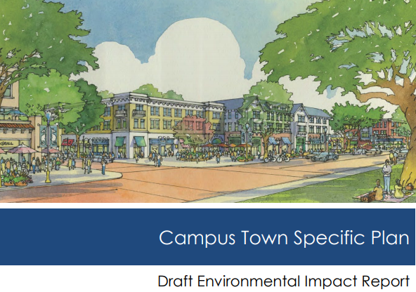 campus town specific plan cover photo