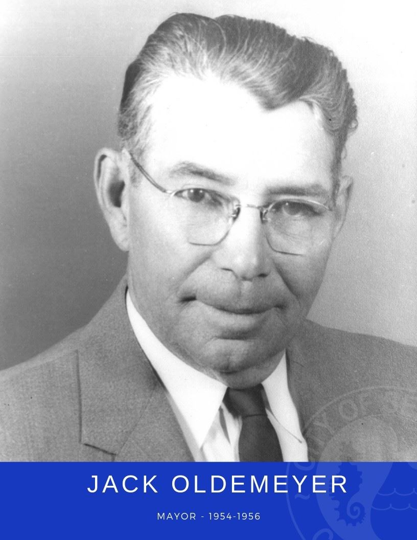 Photo of Mayor Jack Oldemeyer