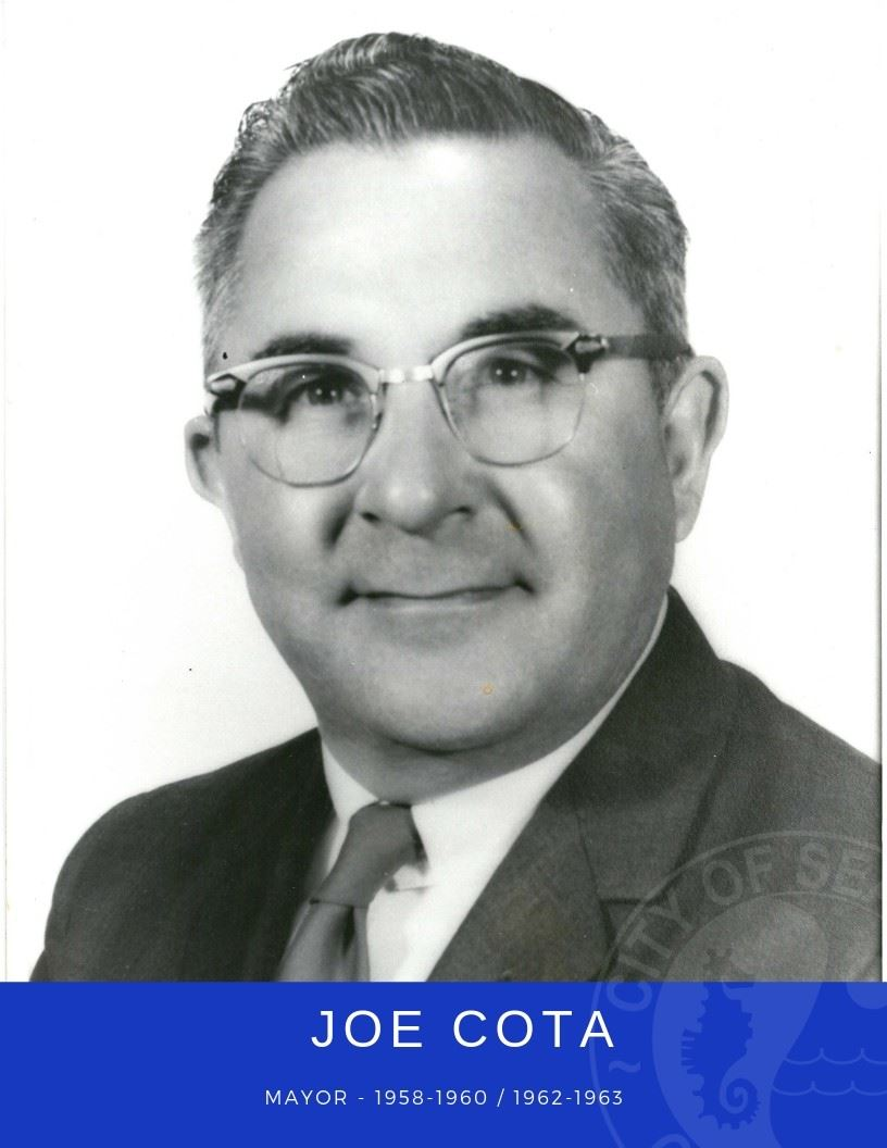 Photo of Mayor Joe Cota