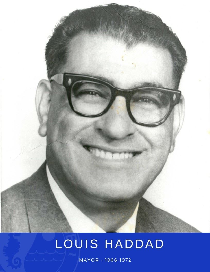 Photo of Mayor Louis Haddad