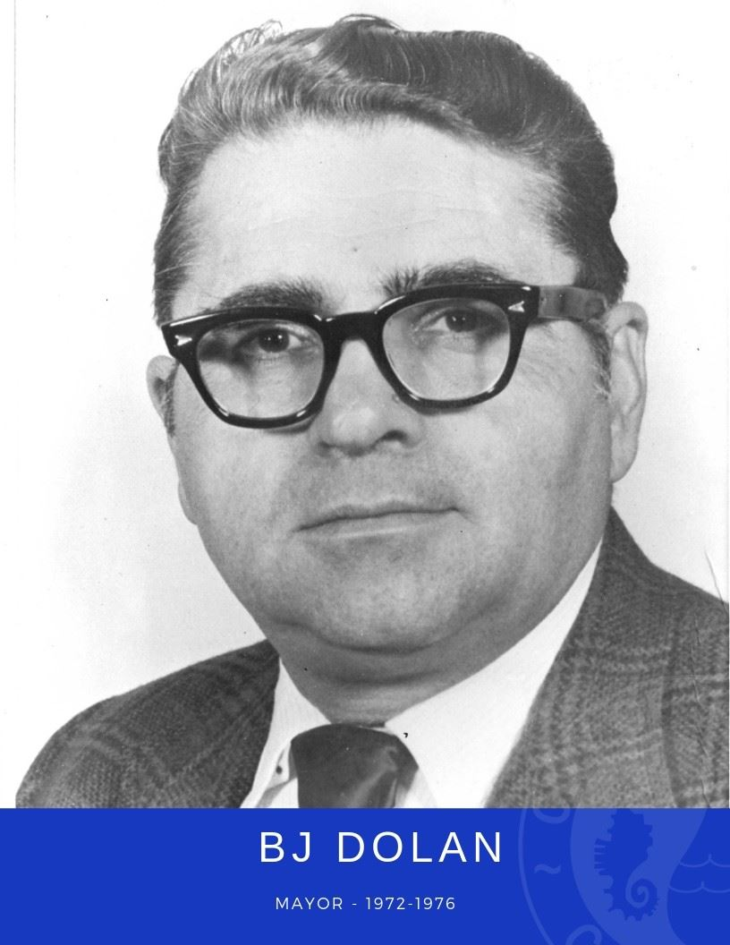 Photo of Mayor BJ Dolan