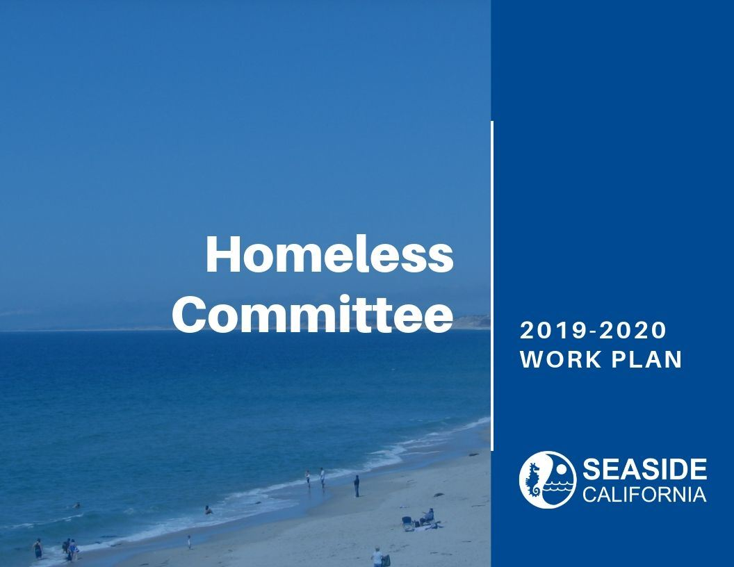 Cover of 19-20 Homeless Committee Work Plan