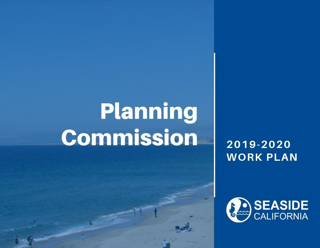 Cover of 19-20 Planning Commission Work Plan