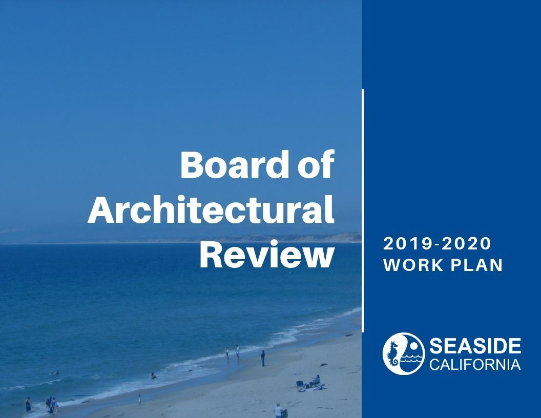 Cover of 19-20 Board of Architectural Review Opens in new window